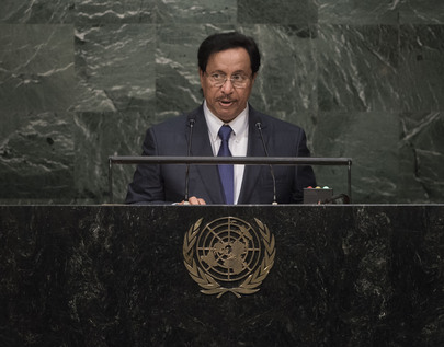 Prime Minister of Kuwait Addresses General Assembly