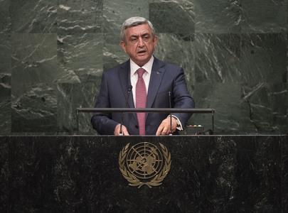 President of Armenia Addresses General Assembly