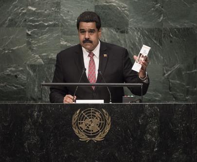 President of Venezuela Addresses General Assembly