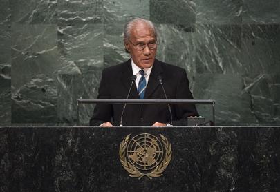 Prime Minister of Tonga Addresses General Assembly