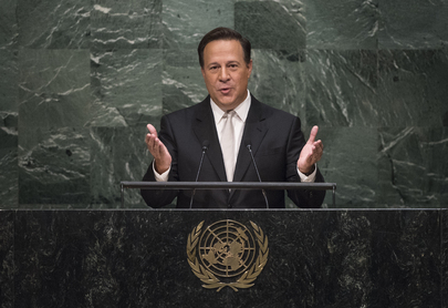 Panamanian President Addresses General Assembly