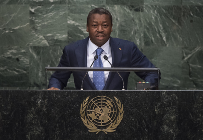 President of Togo Addresses General Assembly