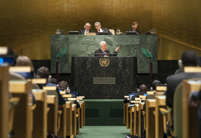 President of State of Palestine Addresses General Assembly