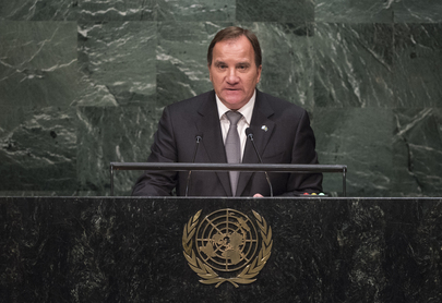 Prime Minister of Sweden Addresses General Assembly