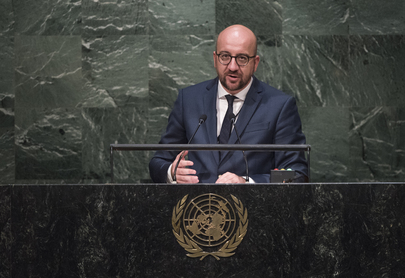 Prime Minister of Belgium Addresses General Assembly