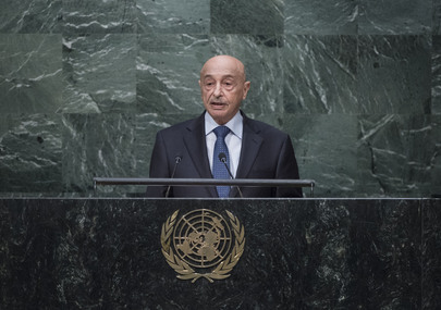 Acting Head of State of Libya Addresses General Assembly