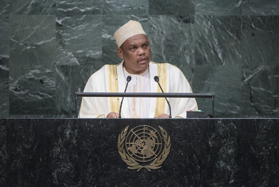 President of Comoros Addresses General Assembly