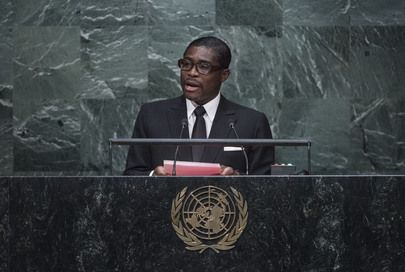 Vice-President of Equatorial Guinea Addresses General Assembly