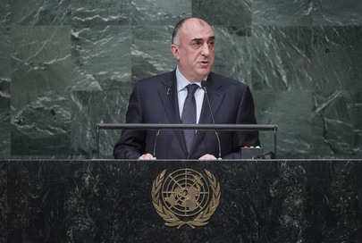 Foreign Minister of Azerbaijan Addresses General Assembly