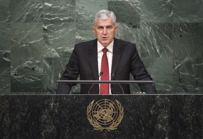 Chair of Bosnia and Herzegovina Presidency Addresses General Assembly