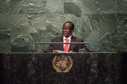 Vice-President of South Sudan Addresses General Assembly