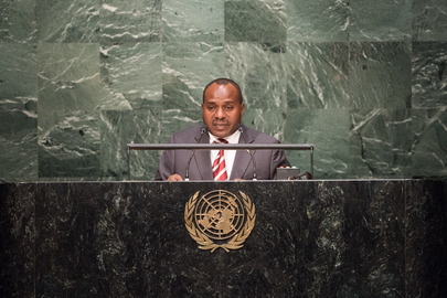 Vice-President of Burundi Addresses General Assembly