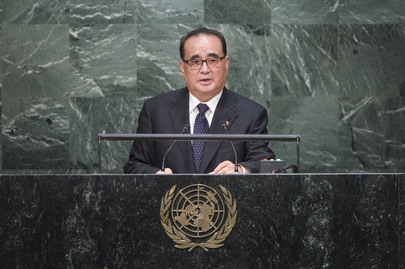 Foreign Minister of DPRK Addresses General Assembly