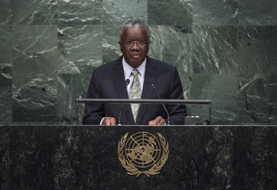 Prime Minister of Barbados Addresses General Assembly