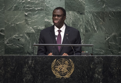Transitional President of Burkina Faso Addresses General Assembly