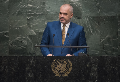 Prime Minister of Albania Addresses General Assembly