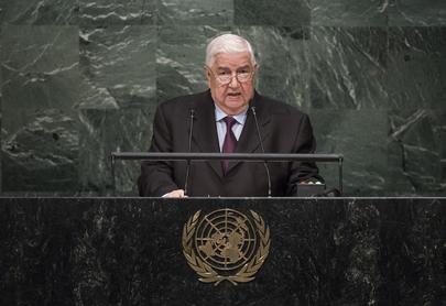 Deputy Prime Minister of Syria Addresses General Assembly