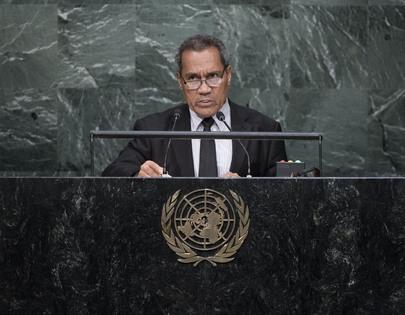 Public Works Minister of Kiribati Addresses General Assembly