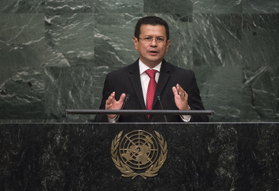 Minister of Foreign Affairs of El Salvador Addresses General Assembly