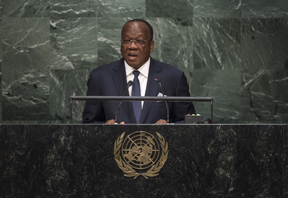 Foreign Minister of Guinea Addresses General Assembly