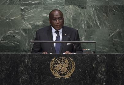 Permanent Representative of Côte d'Ivoire Addresses General Assembly
