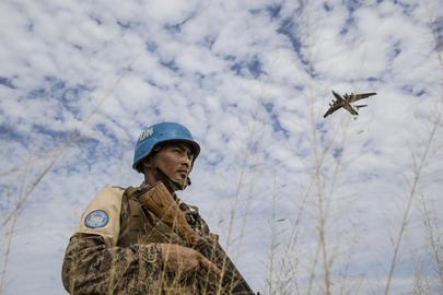 WFP Food Drop Operation in Bentiu, South Sudan