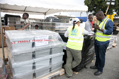 UNOCI Provides Logistical Support for Côte d'Ivoire Presidential Elections