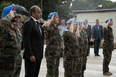 UNIFIL Honours Victims of Paris Terror Attacks