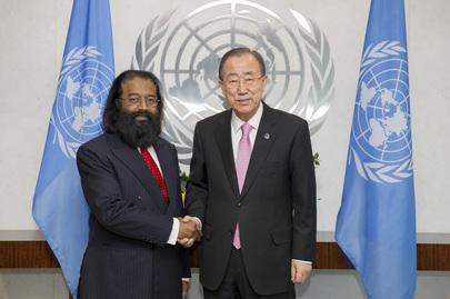 New Permanent Representative of Mauritius Presents Credentials