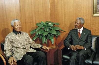 Secretary-General Meets with President of South Africa