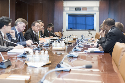 Secretary-General Meets Senior Advisers on Reported Nuclear Test by DPRK
