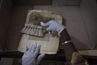 MINUSMA Support in the Preservation of Ancient Manuscripts
