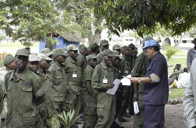 Rwandan Ex-Combatants Demobilize