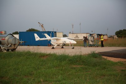 Unmanned Aerial Vehicle in DRC