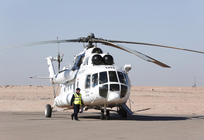 Secretary-General Arrives in Tindouf, Algeria