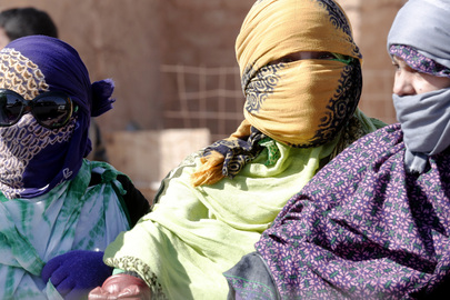 Sahrawi Refugees at Smara Camp, Algeria