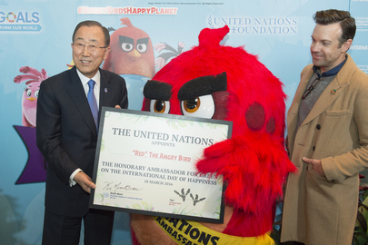 Launch of Campaign with Angry Birds for Sustainable, Happier Future for All