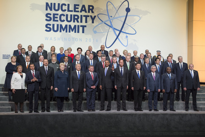 Group Photo of Participants at Nuclear Security Summit, Washington