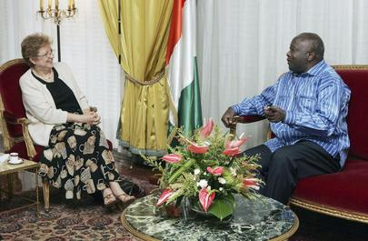 Deputy Secretary-General Meets President of Côte d'Ivoire in Abidjan