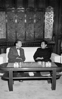 UN Secretary-General Meets Prime Minister Chou En-Lai
