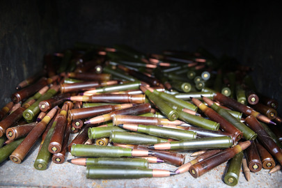 UNMAS Conducts Demolition of Ammunition in Sake, DRC