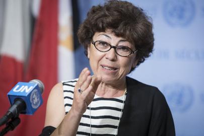 Head of Desertification Convention Briefs Press