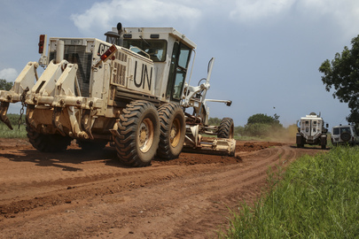 UNMISS Completes Road Rehabilitation, South Sudan