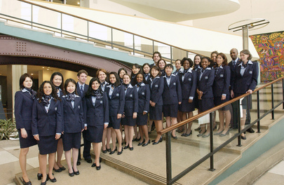 Group Photo of New United Nation Tour Guides