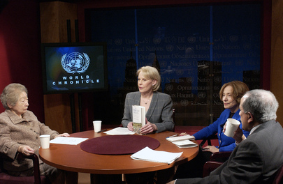 FORMER UN HIGH COMMISSIONER FOR REFUGEES IS GUEST ON WORLD CHRONICLE