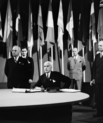 The San Francisco Conference: The United States Signs the United Nations Charter
