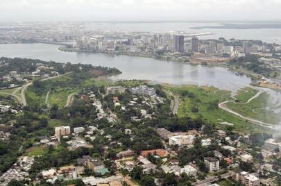Aerial View of Abidjan