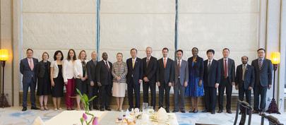Secretary-General Meets UN Country Team, Beijing