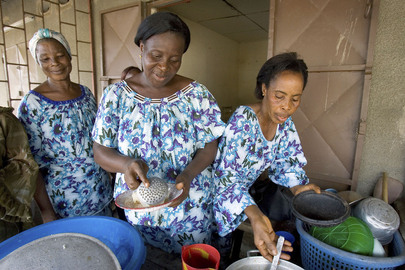 Restaurant Run by Women in Côte d'Ivoire