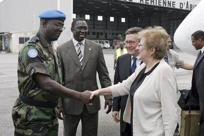 Deputy Secretary-General Arrives in Abidjan